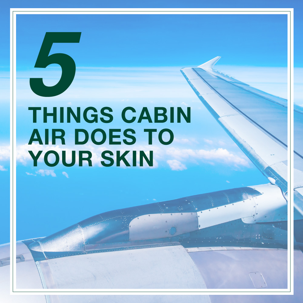 5 Nasty Things That Flying In An Airplane Does To Your Skin