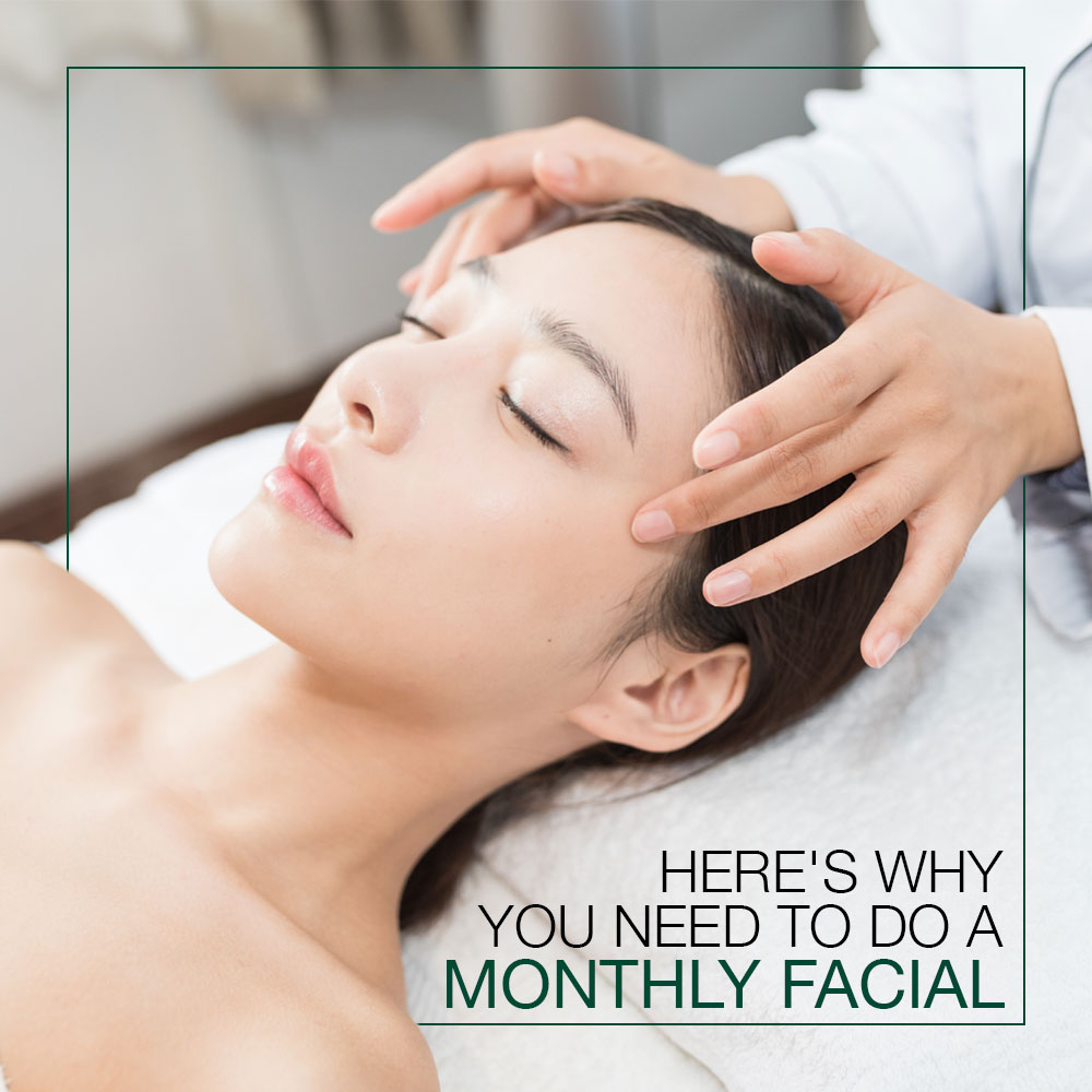 Here's Why You Need To Do a Monthly Facial