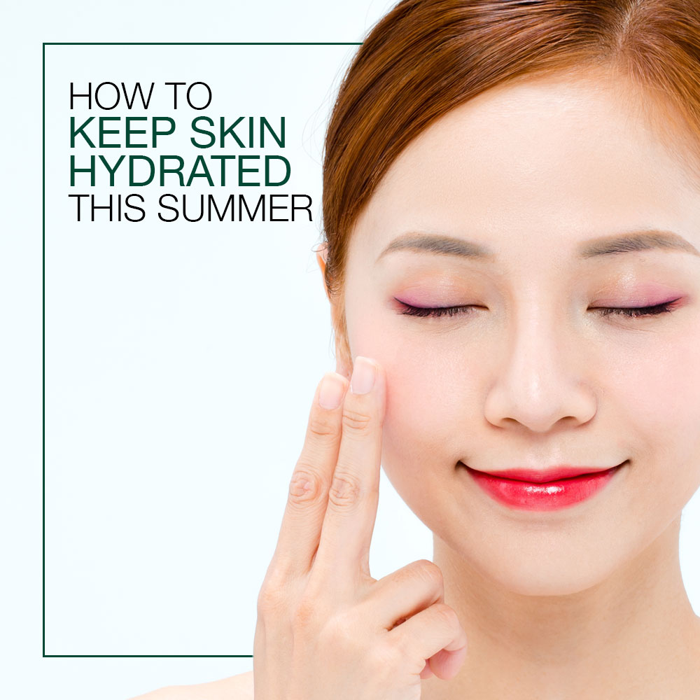 How To Keep Skin Hydrated This Summer
