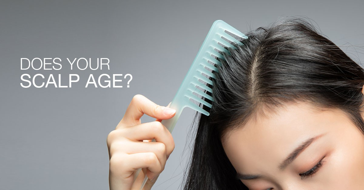 Does Your Scalp Age?